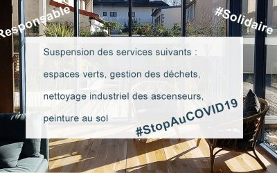 Suspension de certains services