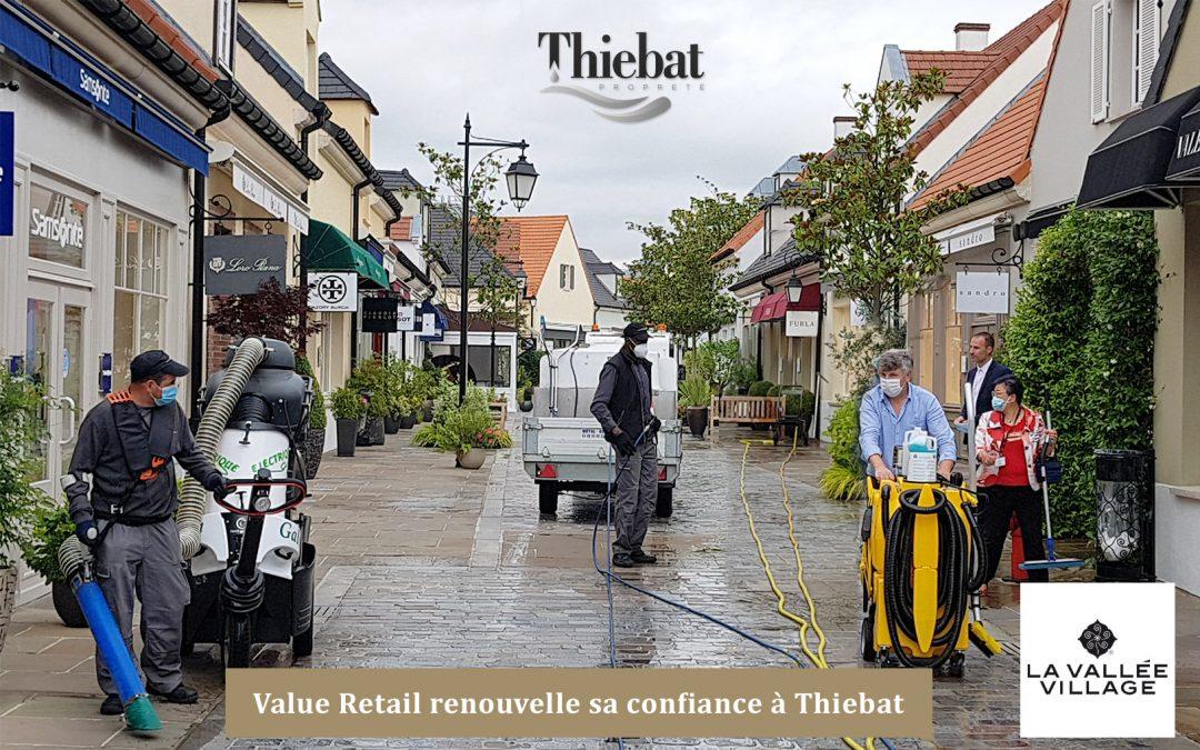 La Vallée Village renouvelle son partenariat avec Thiebat